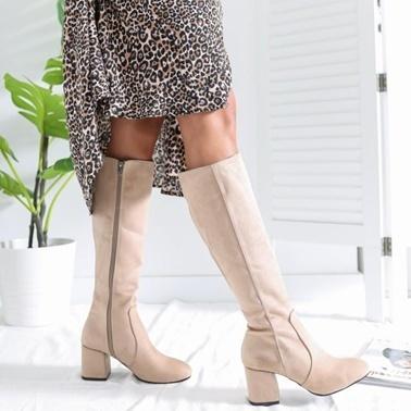 Limoya Çizme Bej